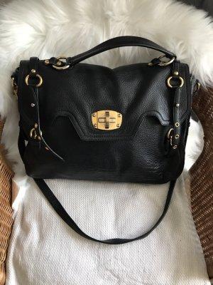 Schwarze Tasche von Miu Miu (Deerskin Satchel)