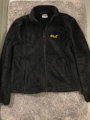 Jack Wolfskin Fur Jacket black