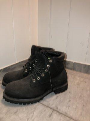 Schwarze Timberland Boots