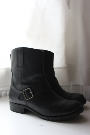 Timberland Ankle Boots black-silver-colored leather
