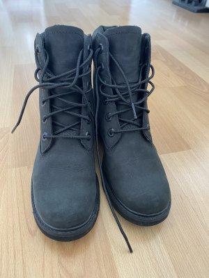 Timberland Bottines à lacets noir