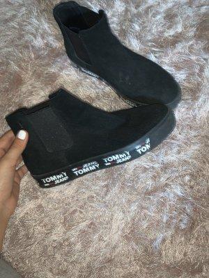 Schwarze Tommy Schuhe