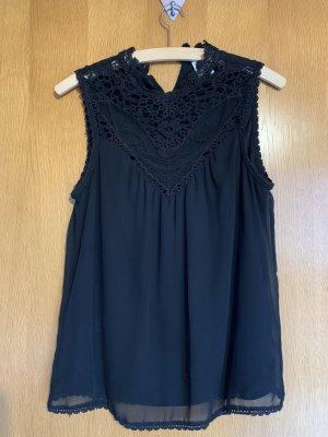 Vero Moda Lace Top black polyester