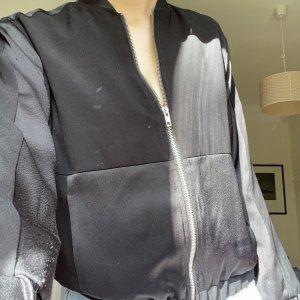 Schwarze topshop Jacke