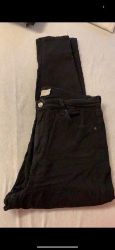 Schwarze Topshop Jeans