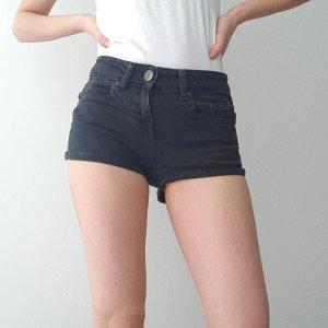 Schwarze Topshop Shorts