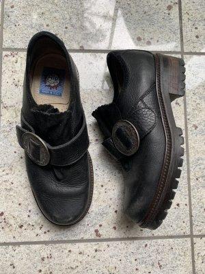 Vintage Zapatos sin cordones negro