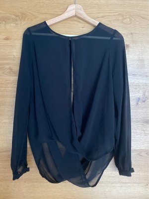 Amy & Ivy Long Sleeve Blouse black
