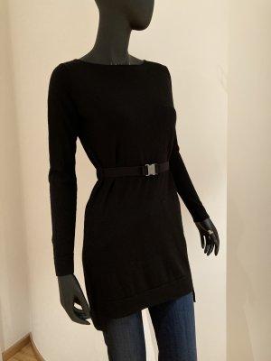 COS Long Sweater black wool