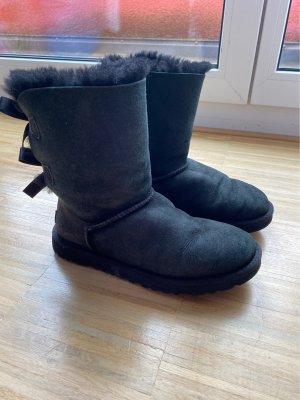 UGG Australia Futrzane buty czarny