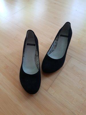 Schwarze Vagabond Schuhe