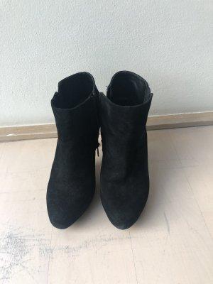 schwarze Velourleder Stiefeletten von ASH