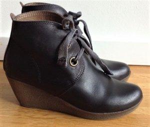 Lili Mill Chaussures à lacets noir cuir