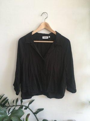 Schwarze Weekday Bluse