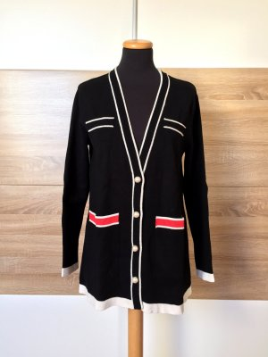 Zara Cardigan tricotés multicolore viscose