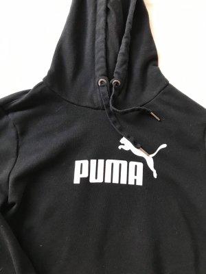 Puma Jersey con capucha blanco-negro