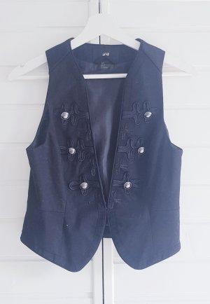 H&M Gilet en jean noir