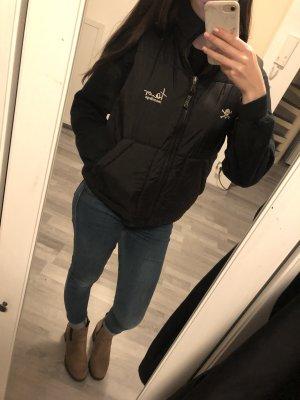 Vintage Polarowa kamizelka czarny