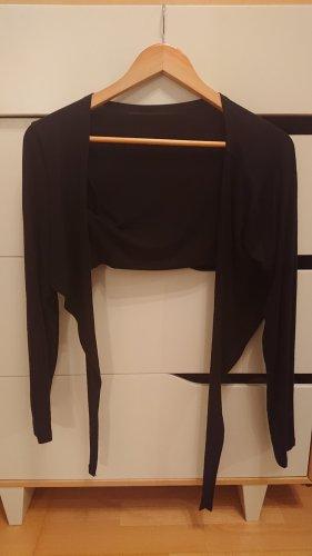 Wraparound Jacket black