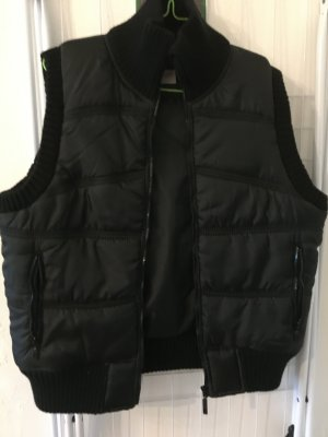 giani feroti Quilted Gilet black polyester
