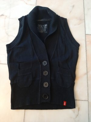 edc by Esprit Knitted Vest black