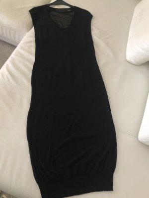 Avelon Gilet long tricoté noir