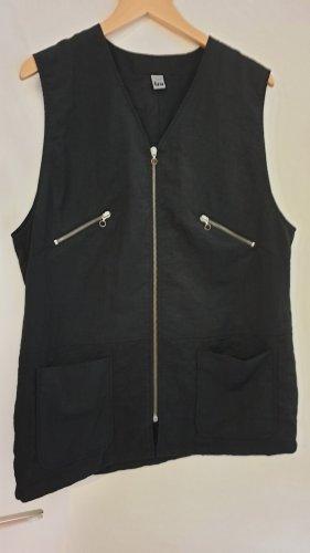 tru Sports Vests black-silver-colored