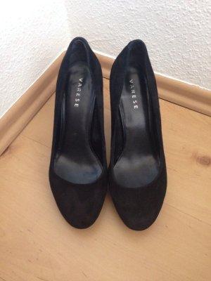 schwarze pumps, Pumps aus , schwarz, Gr. 38, Varese