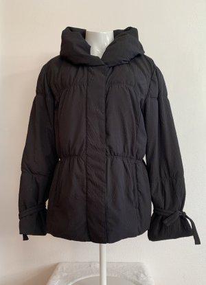 Schwarze Winter-Jacke / Mantel von Taifun Gr. 42