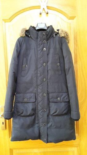 Schwarze Winterjacke von PEPE JEANS mit kragen, Gr. M