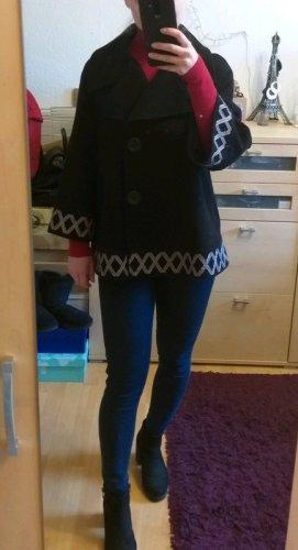 Amaryllis Veste en laine noir laine
