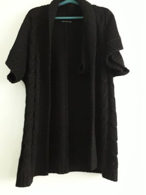 ATMOSPHÄRE Gilet long tricoté noir