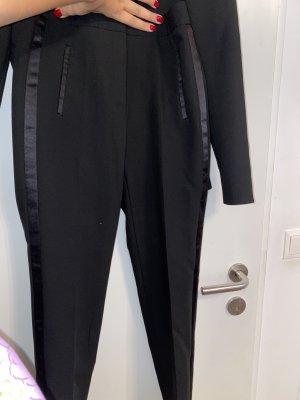 Schwarze Zara Anzughose XS