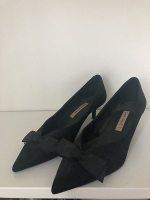 Schwarze Zara Basic Gr 37