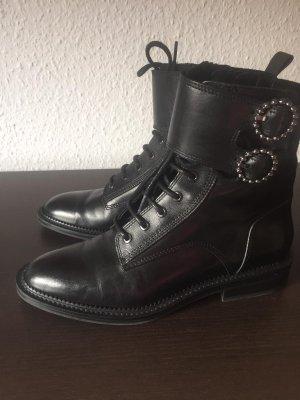 Schwarze Zara Boots GR.37