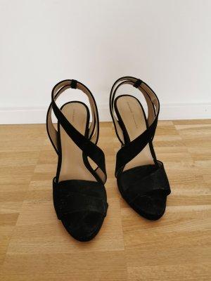 Schwarze Zara High Heels