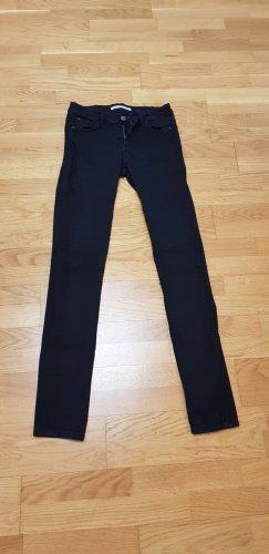 Zara Pantalón de tubo negro