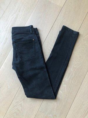 Schwarze Zara Jeans skinny