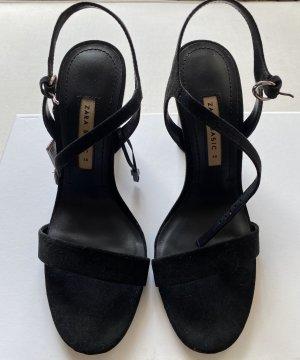 Schwarze Zara Schuhe