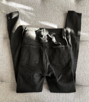 SchwarzeHigh Waist Hollister Jeans W23 L28