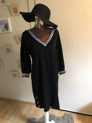 Schwarzen Long Kleid/Shirt