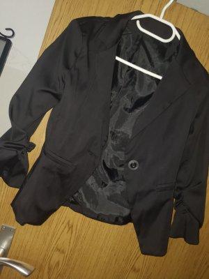 schwarzer 3/4 blazer
