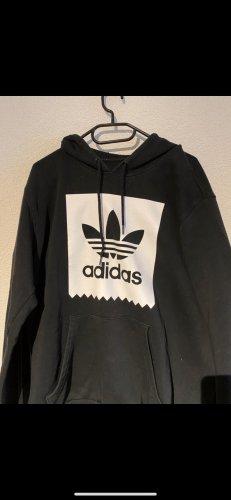Schwarzer Adidas Hoodie