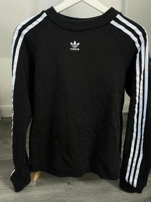 Adidas Pullover in cashmere nero-bianco
