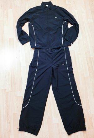 schwarzer Adidas Trainingsanzug