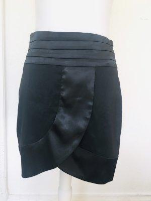 a wear Gonna asimmetrica nero