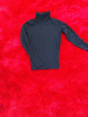 C&A Basics Sweter z golfem czarny