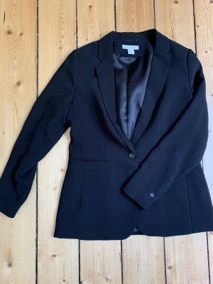 H&M Klassischer Blazer nero