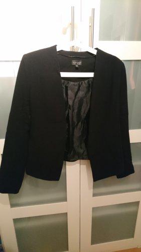 Topshop Tweed Blazer black