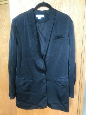 H&M Blazer in jersey nero